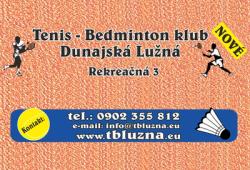 Bedminton Dunajská Lužná